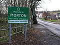 Welcome to Morton - geograph.org.uk - 288662.jpg