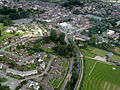 Welshpool and the A490.jpg