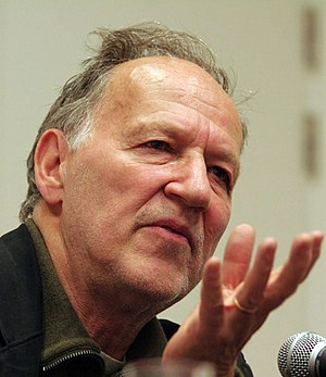 Director Werner Herzog at a press conference i...