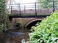 Wesley Brook runs under bridges in Haughton Lane - geograph.org.uk - 1247238.jpg