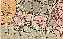Description de l'image West Florida Map 1767.jpg.