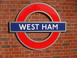West Ham stn Jubilee roundel.JPG