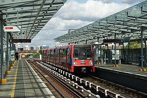 West India Quay DLR station - Image: West India Quay, Docklands Light Railway geograph.org.uk 1472271