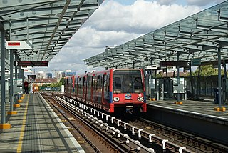 Docklands Light Railway station