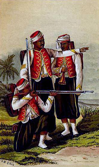 West India Regiments - West India Regiment, 1874