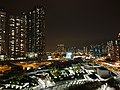 West Jordan viewed from West Kowloon Station at night.jpg