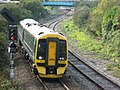 Weston-super-Mare - GWR 158766 leaing for Cardiff.JPG