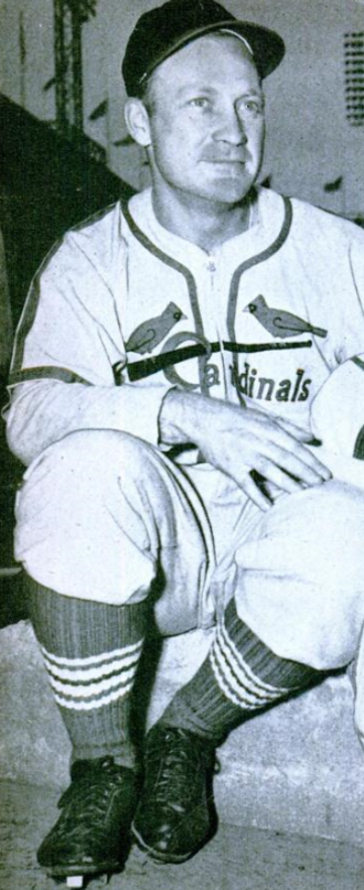 1946 National League tie-breaker series - Image: Whitey Kurowski