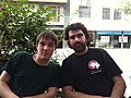 Wiki Takes Barcelona - post meeting lunch.JPG