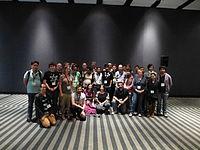 Wikimania 2015 - Wikidata group photo 1.JPG