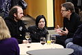 Wikimedians in discussion 1, 2011-01-07.jpg