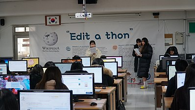 Wikipedia and YJ Edit-a-thon2018 8.jpg
