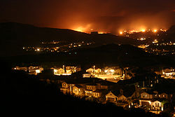 Incendios en California, 2007