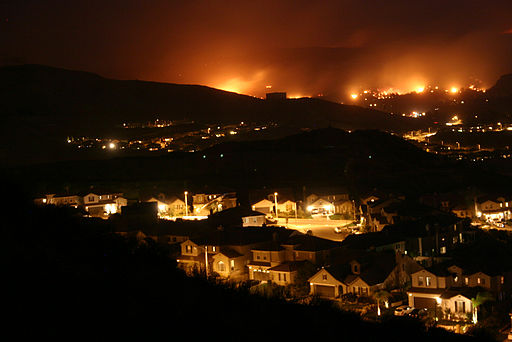 Wildfire California Santa Clarita