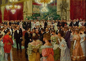 Karl Lueger - Karl Lueger at a ball in Vienna City Hall 1904, by Wilhelm Gause, Historical Museum of the City of Vienna