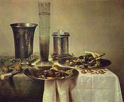 Willem Claesz. Heda: A Dessert