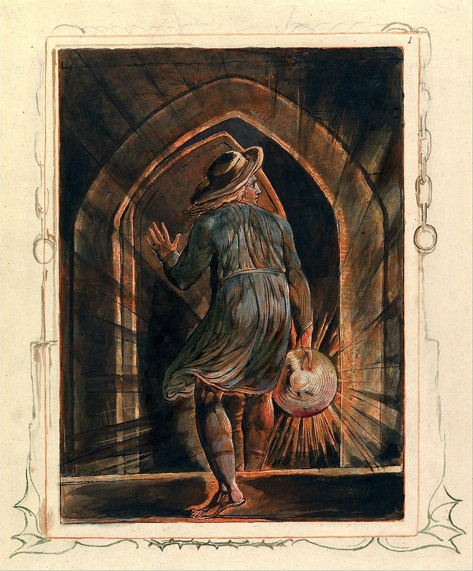 William Blake - Jerusalem, Plate 1, Frontispiece - Google Art Project