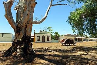 Kununoppin Town in Western Australia