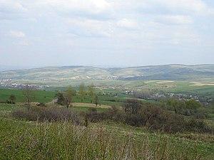 Karlików - The Pogórze Bukowskie is a hilly region (thus the name, Bukowsko hilly region) in Poland.