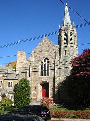 Wollaston Congregational Church - Image: Wollaston Congregational Church Quincy MA 02