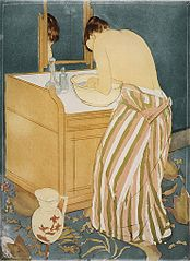 Woman Bathing (La Toilette)