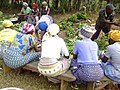 Women prepare a meal for a party in Uganda 01.jpg