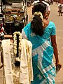 Women with Flowers in Hair - Kumbakonam - India.JPG