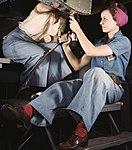 Women working at Douglas Aircraft (cropped).jpg