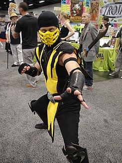 scorpion personaje de mortal kombat wikipedia la