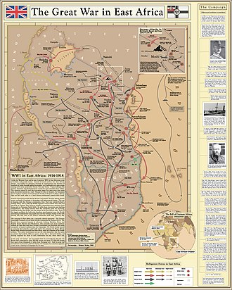 East African Campaign (World War I) - Image: World War I in East Africa