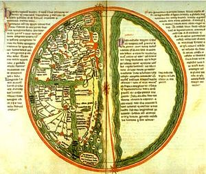 Liber Floridus - World map of 12th century