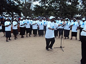 World Water Day - A World Water Day celebration in Kenya in 2010