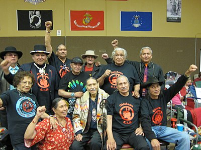 Wounded Knee AIM veterans