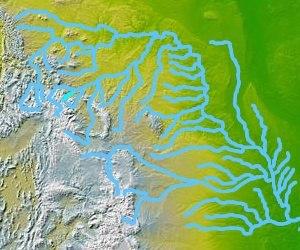Stillwater River (Stillwater County, Montana) - Image: Wpdms nasa topo stillwater river south central montana