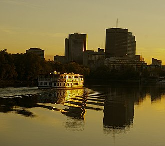 Red River of the North - Red River in Winnipeg, Manitoba