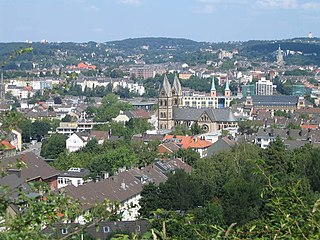 Wuppertal Place in North Rhine-Westphalia, Germany