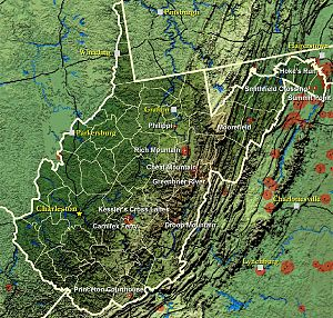 West Virginia in the American Civil War - Civil War Battles Fought in West Virginia
