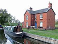 Wychnor Lock Cottage, Trent and Mersey Canal, Staffordshire - geograph.org.uk - 1580166.jpg