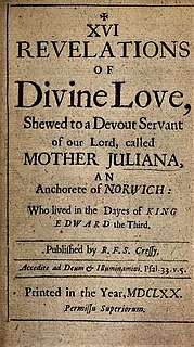 <i>Revelations of Divine Love</i>
