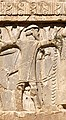 Xerxes I tomb Ionian with petasos or kausia soldier circa 480 BCE.jpg
