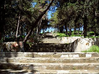 Yumuktepe Ruin mound in Turkey