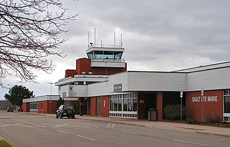 Sault Ste. Marie Airport - Image: YAM Sault Airport