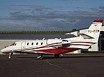 YU-PZM Cessna Citation 560 XLS Airpink (36082600145).jpg