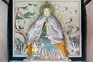 Yang Yi - Statue of Yang Yi in the Zhuge Liang Memorial Temple in the Wuzhang Plains, Shaanxi