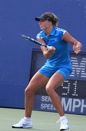 Yanina Wickmayer - Yanina Wickmayer at the 2009 US Open