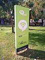 Yerevan - Public Wi-Fi sign in Lovers' Park (oct 2018).jpg