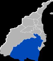 南澳鄉位置圖
