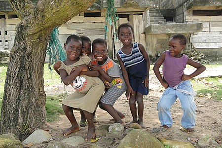 Ghanaian Girls at Busua
