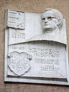 Czechoslovak russian nation politician