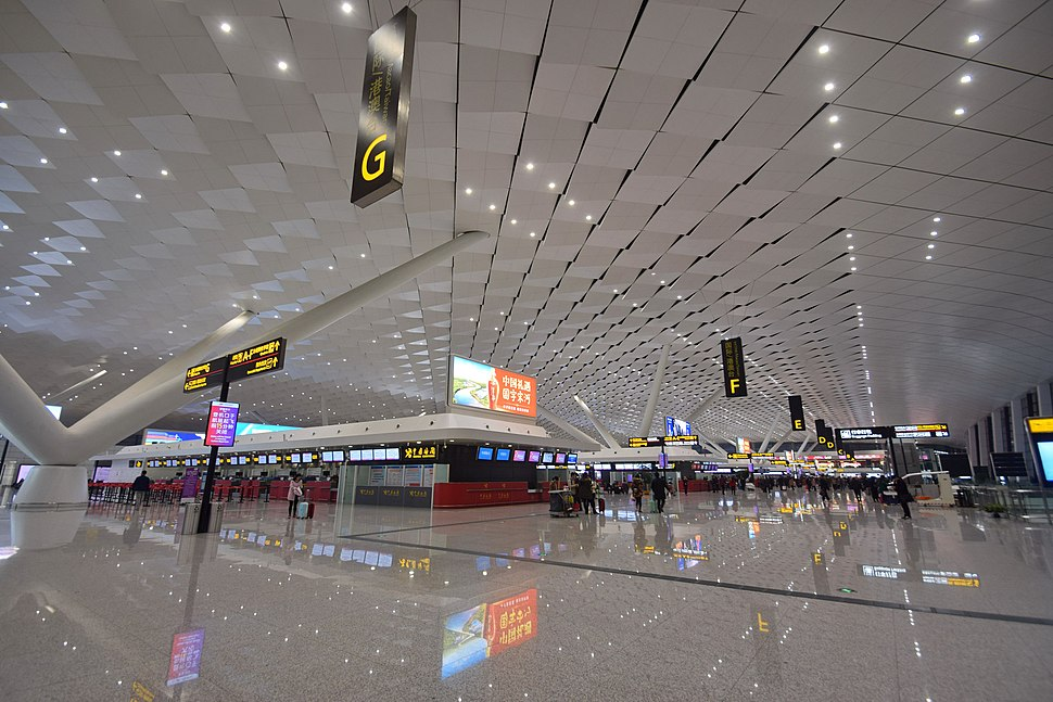 Zhengzhou Xinzheng International Airport Terminal 2 Departure Concourse